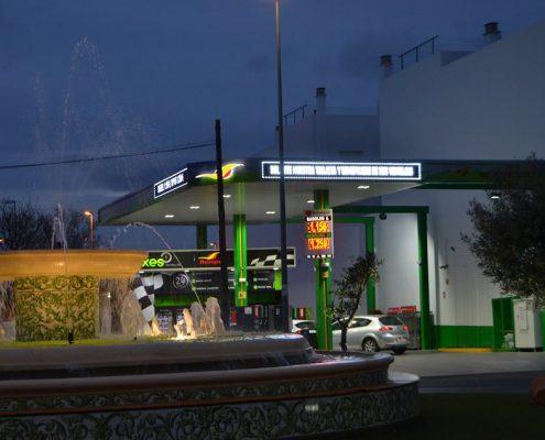 gasolinera villa